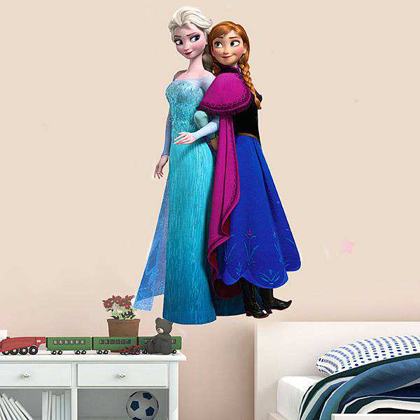 Frozen Anna Elsa Princess Wall Sticker Wall decals