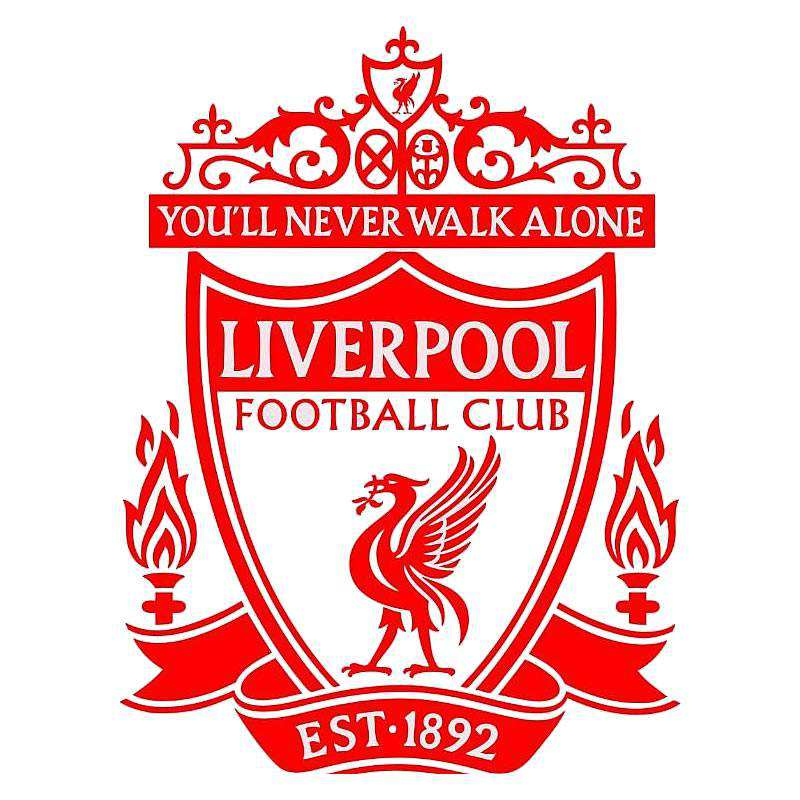 Liverpool wall sticker art mural decal