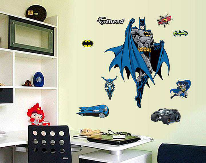 batman wall decals