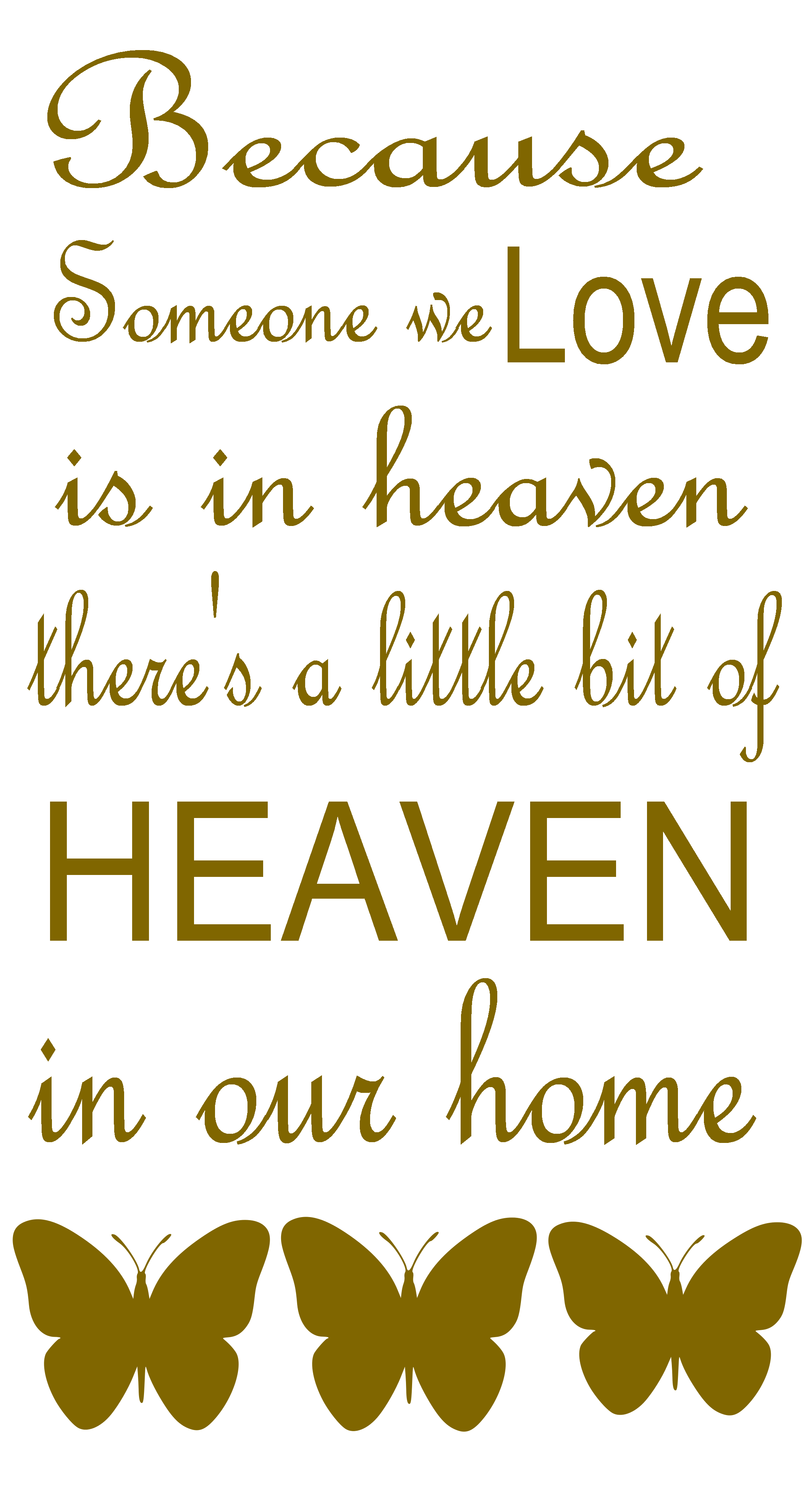 Wall stickers quotes heaven ~ Color the walls of your house for Wall Sticker Quotes Png  589ifm