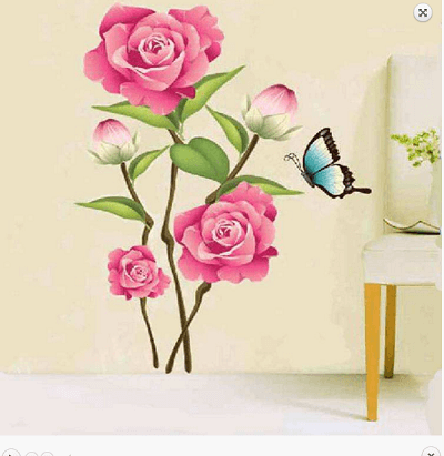 rose-wall-decal