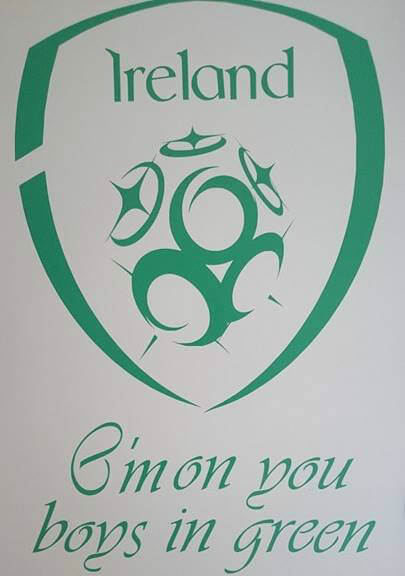 Ireland crest decal